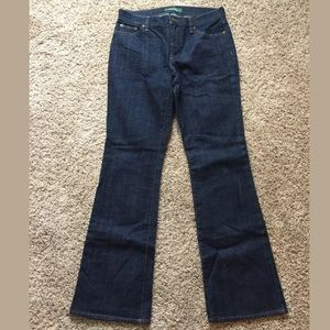 Ralph Lauren Blue Jeans Dark Wash Boot Cut Sz. 6